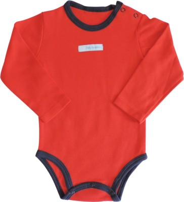 Ole Baby Style Star Baby Boys Red Bodysuit