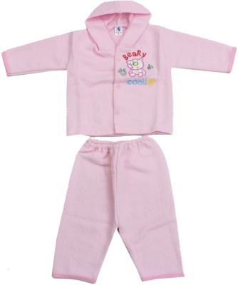 Romano Baby Boy's Pink Bodysuit and Bib