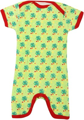 Earth Conscious Baby Boy's Green Bodysuit