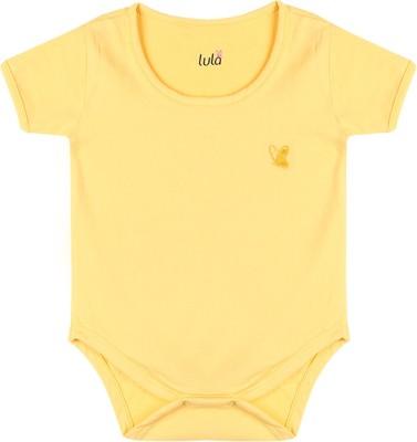 Lula Baby Girl's Yellow Bodysuit