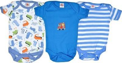NammaBaby Baby Boy,s Blue Bodysuit
