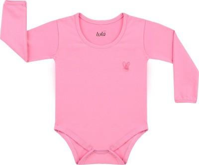 Lula Baby Girl's Pink Bodysuit