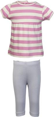 Nino Bambino Baby Girl's Lavender, Sky Blue Sleepsuit
