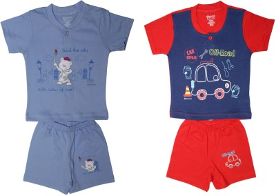 Body Care Baby Boy's Multicolor Bodysuit