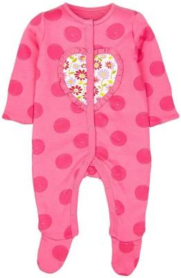 Mom & Me Baby Girl,s Pink Sleepsuit