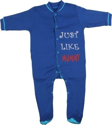 Gkidz Baby Boy's Dark Blue Sleepsuit