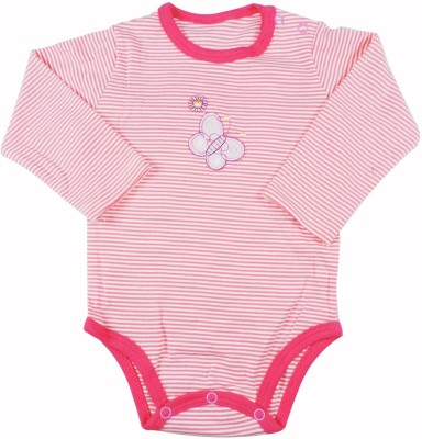 Ole Baby Style Star Baby Girl's Red Bodysuit