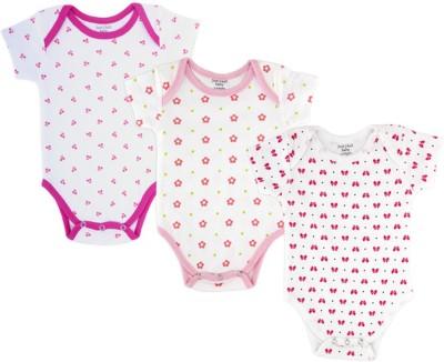 Just Chill Baby Girl's Multicoloured Bodysuit