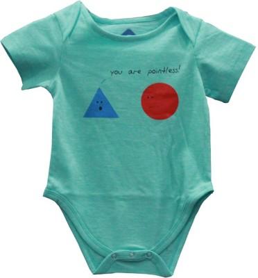 Blue Bus Store SLOGAN T-SHIRTS Baby Boy,s Blue Bodysuit