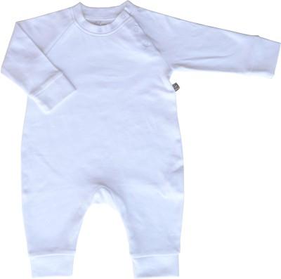 Babeez World Sleeper/Romper Baby Boy's White Sleepsuit