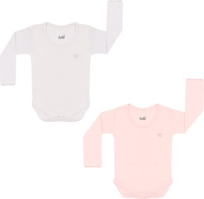 Lula Boys White, Pink Bodysuit