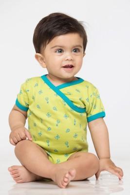 Nino Bambino Baby Boy's Green, Blue Bodysuit