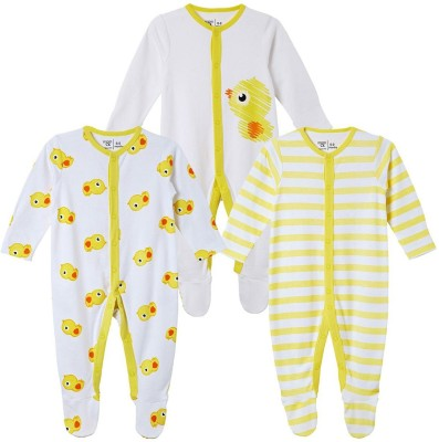 Mom & Me Baby Boy's Yellow Sleepsuit