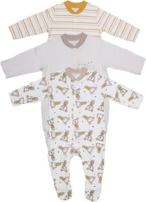 Babysafe Baby Boy's Multicolour Sleepsuit