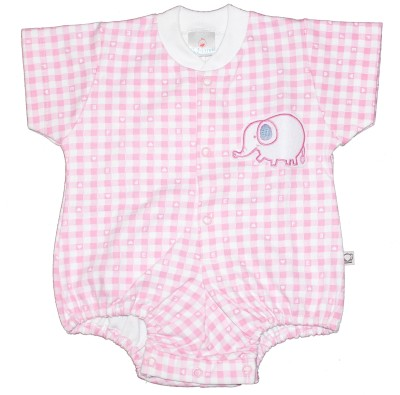 Babiano Baby Girls Pink Bodysuit