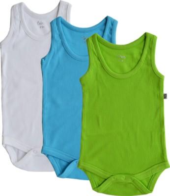 Babeez World Baby Boy's White/Turq/Green Bodysuit