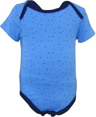 Teddy's Choice Baby Boy's Blue Bodysuit