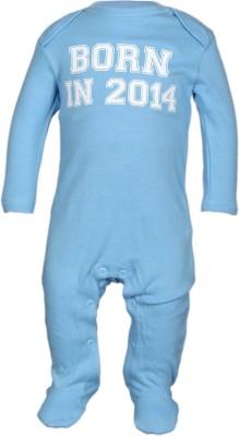 Babysafe Baby Boy's Blue Sleepsuit