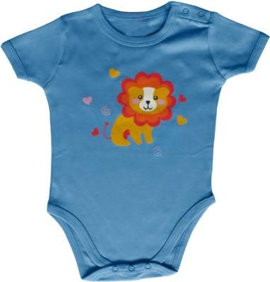 Kothari Baby Boy's Light Blue Romper