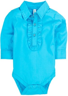 Snuggles Baby Girl's Blue Bodysuit