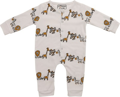LIL PENGUIN Baby Boys White Bodysuit