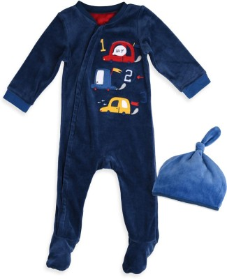 Mothercare Baby Boy's Baby Boy's Blue Bodysuit