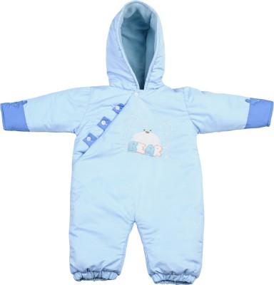 Tillu Pillu Baby Girl's Sky Blue Bodysuit