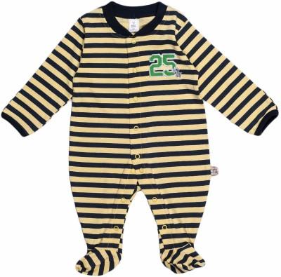 Toffyhouse Baby Boy's Yellow Sleepsuit