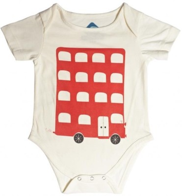 Blue Bus Store SLOGAN T-SHIRTS Baby Boys White Bodysuit