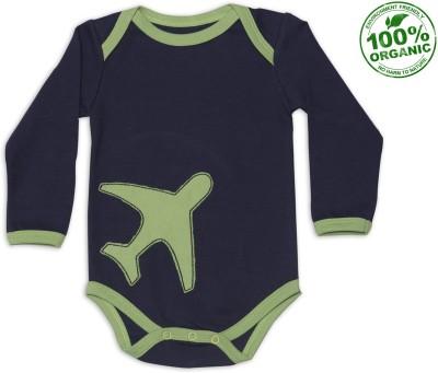 Nino Bambino Baby Boy's Blue, Green Bodysuit