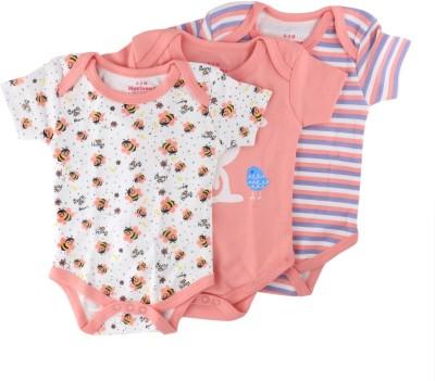 Morisons Baby Dreams Baby Boy's Pink Bodysuit