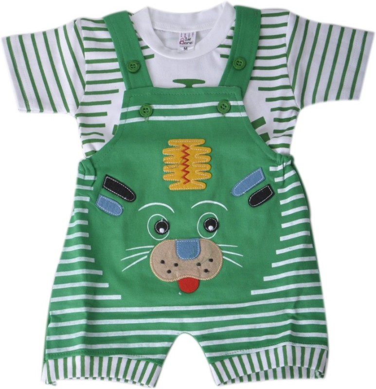 Mahadhi Boys Green Bodysuit