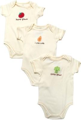 Hudson Baby Baby Boy's Cream Bodysuit