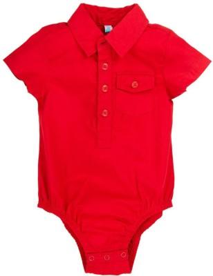 Snuggles Baby Boy's Red Bodysuit
