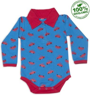 Nino Bambino Baby Boy's Red Bodysuit