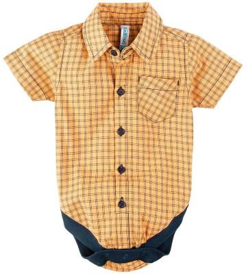 Snuggles Baby Boy's Orange Bodysuit