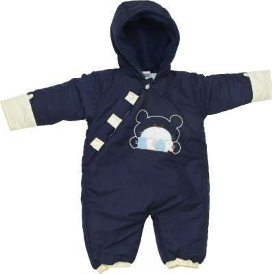 Tillu Pillu Baby Boy's NAVY BLUE Bodysuit