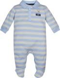 FS Mini Klub Baby Boys Blue Sleepsuit