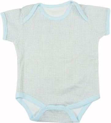 Ole Baby Style Star Baby Boys Blue Bodysuit
