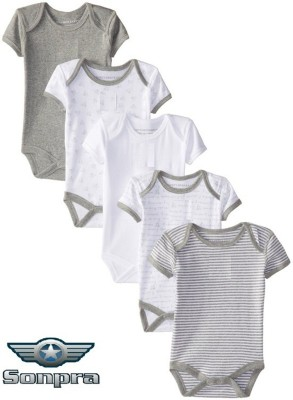 Sonpra Baby Boy's Multicolor Bodysuit