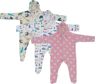 WEFTY Baby Boy,s Multicolor Sleepsuit