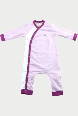 Cherry Crumble California Baby Boy's Purple Bodysuit