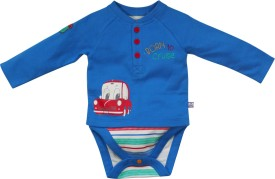 FS Mini Klub Baby Boys Blue Bodysuit