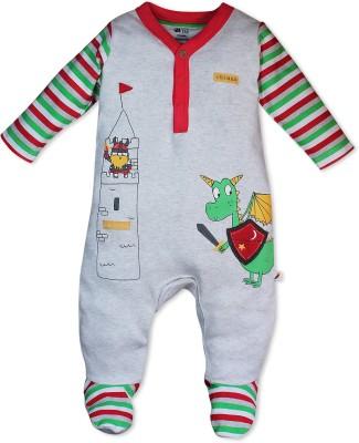 FS Mini Klub Baby Boy's Multicolor Sleepsuit