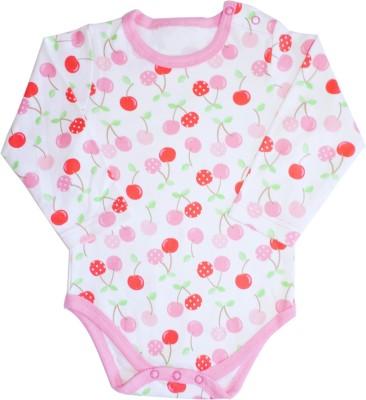 Ole Baby Style Star Baby Girl's Multicolour Bodysuit