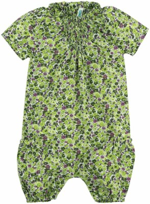 Snuggles Baby Girl's Green Bodysuit