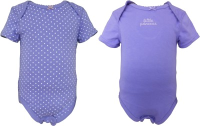 Teddys choice Baby Girls Purple, Light Purple Bodysuit