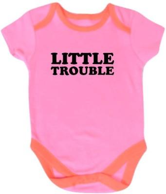 Chota Packet Baby Boy's Pink Bodysuit