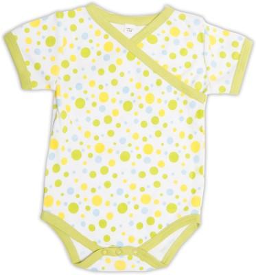 Nino Bambino Baby Boy's Yellow, Green Bodysuit