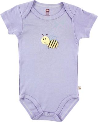 Hudson Baby Baby Girl's Purple Bodysuit